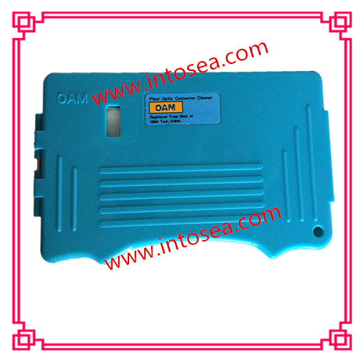 OAM Optical fiber connector cleaner